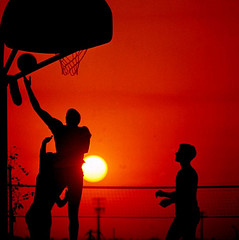 Basketball Tips Home Pic - Silhouette