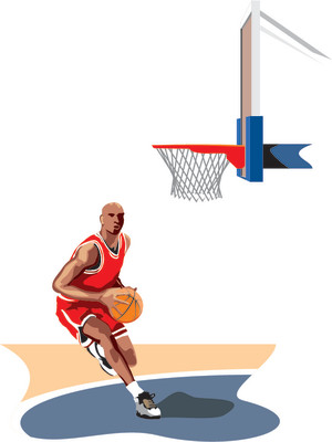 Basketball Tips Jordan Silhouette